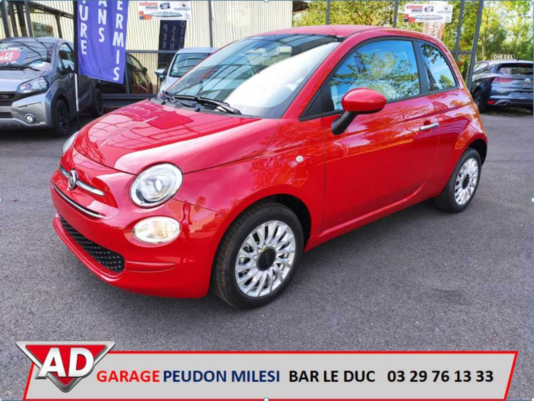 Fiat 500 Fiat 500 Lounge 1.0 70hp Hybrid Red Passione occasion