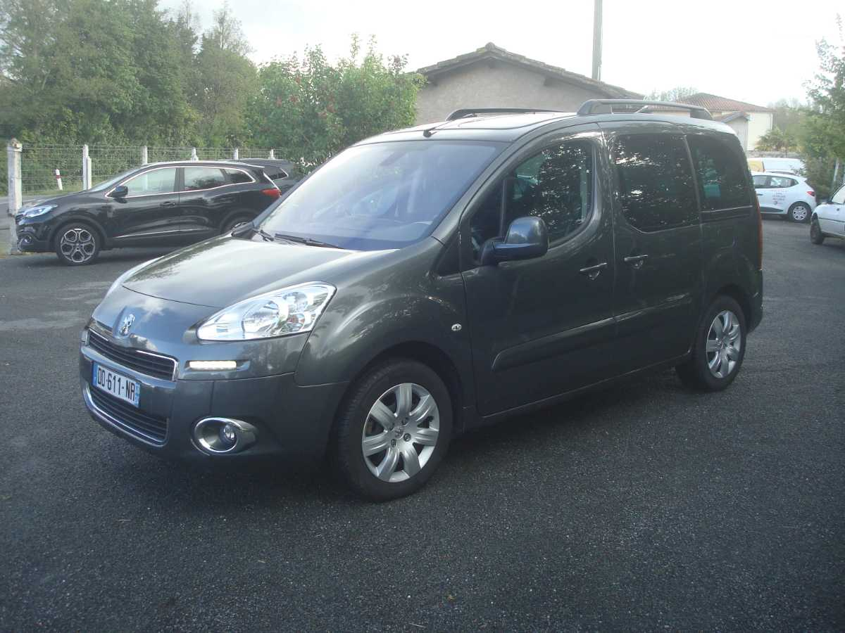 Peugeot Partner TEPEE 1.6 HDI 115 ZENITH occasion